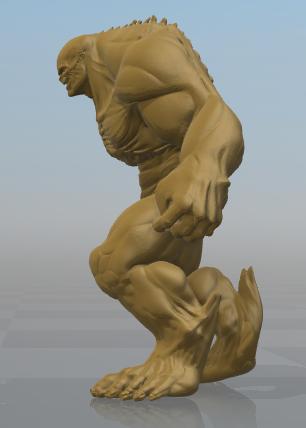 Captura3.PNG Download free STL file Abomination • 3D printing object, hiddenart8