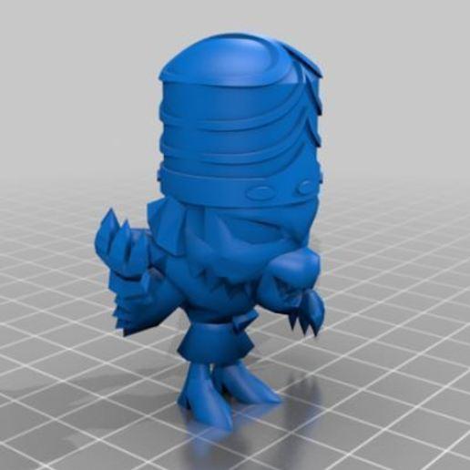 mojo4.JPG Télécharger fichier OBJ gratuit Mojo jojo • Design à imprimer en 3D, hiddenart8