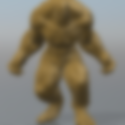 abomination-.stl Download free STL file Abomination • 3D printing object, hiddenart8