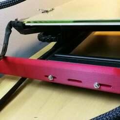guide_cable_plateau_chauffant_02.jpg Télécharger fichier STL gratuit Creality CR-10 - diapositive pour le câble d'alimentation des lits chauffants • Plan à imprimer en 3D, bernardbolliandi