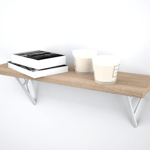 Clément dilé 1.png Télécharger fichier STL gratuit Shelf branch • Modèle pour impression 3D, dileclem