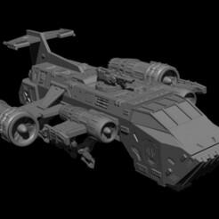 131432.jpg Download STL file Tank transporter ship • 3D printable object, ACityOfMonsters