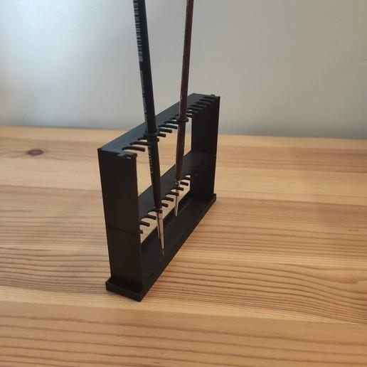Download STL file Upside down brush holder • 3D print model, Rolrik
