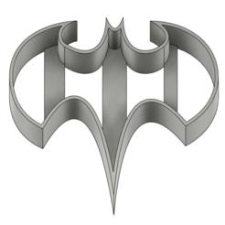 Batman 2007.png Download STL file COOKIE CUTTER BUNDLE 1 • 3D print model, Rolrik