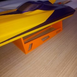 Télécharger fichier 3D support pour bateau rc boat stand, romulot265