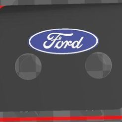 3_color_panel.JPG Download free 3MF file Lower right panel for 2015 Ford • 3D printable template, akwerdesigns