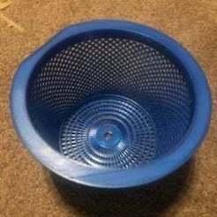 Skimmer_Basket.jpg Télécharger fichier STL gratuit Panier d'écumoire de piscine • Objet imprimable en 3D, akwerdesigns