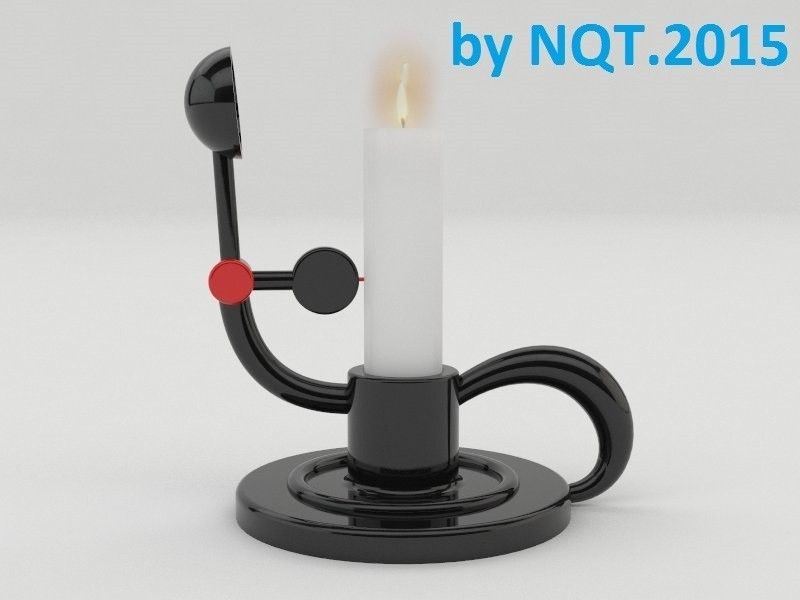preview1_-_Copia_display_large.jpg Download free STL file Portable Switch Off Candle 20mm • 3D printer model, Caghon3d