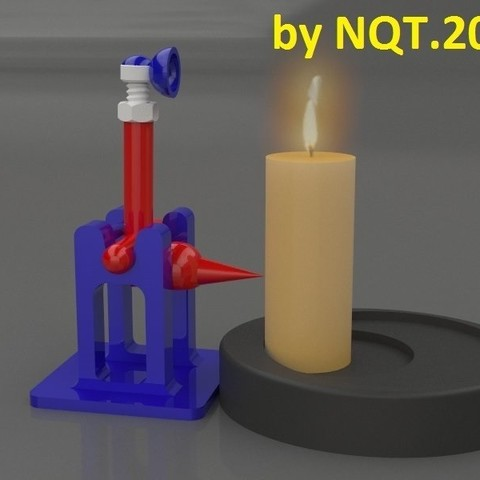 Free 3D model Switch Off Candle by NQT.2015, Caghon3d