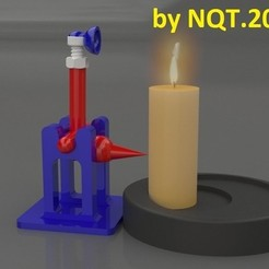 Download free 3D printer files Switch Off Candle by NQT.2015, Caghon3d