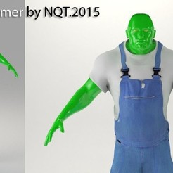 Download free STL file Farmer by NQT.2015, Caghon3d