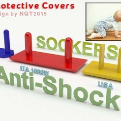 Download free 3D printer templates Anti Shock / Protective Socker for kids by NQT2015, Caghon3d