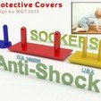 Prese_antishock_COVER_display_large.jpg Download free STL file Anti Shock / Protective Socker for kids by NQT2015 • 3D print object, Caghon3d