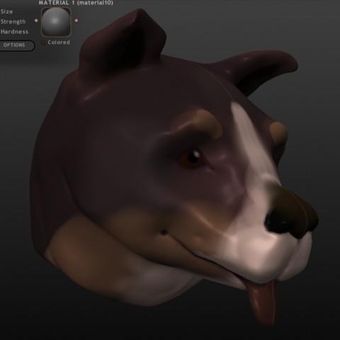 Download free 3D printer designs Basic Dog Sculpt, Boastcott