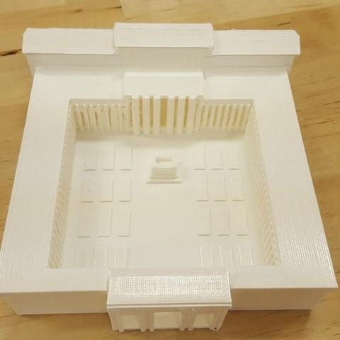 Free 3D printer model Temple of Peace, Boastcott