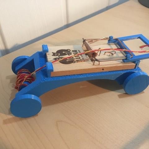 Download free STL Mousetrap Racer, FowlvidBastien