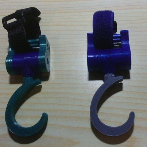 Download free 3D printer designs Baby pram hook, FowlvidBastien