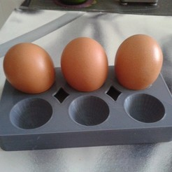 Free 3D model 6 egg carton, FowlvidBastien