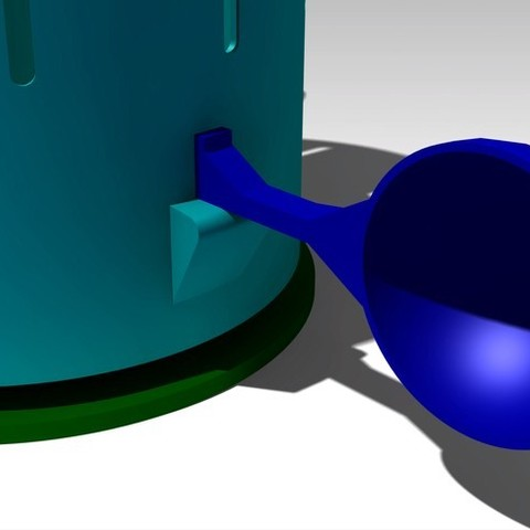 Assembly_Detail1_display_large.jpg Download free STL file Magic Zoetrope • Design to 3D print, FowlvidBastien