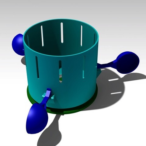 Assembly_display_large.jpg Download free STL file Magic Zoetrope • Design to 3D print, FowlvidBastien