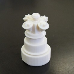Free 3D printer designs Chess Piece Challenge, FowlvidBastien