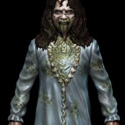000001.jpg Download STL file Regan The Exorcist • 3D print object, Phantoshe