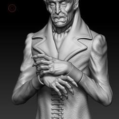 00001.jpg Download STL file Nosferatu • 3D printer template, Phantoshe