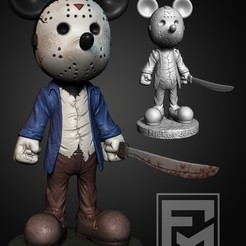 mickey.jpg Download STL file Disney Halloween • Object to 3D print, Phantoshe