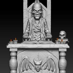 123481337_3360868327336284_5697639153923536825_n.jpg Download STL file Tales from the crypt • 3D print model, Phantoshe