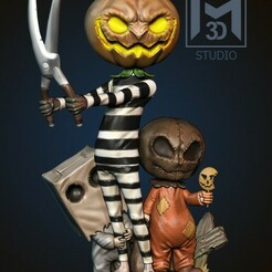 1.jpg Télécharger fichier STL Joyeux Halloween • Modèle à imprimer en 3D, Phantoshe