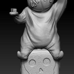 Download 3D printing models Oogie Boogie, Phantoshe