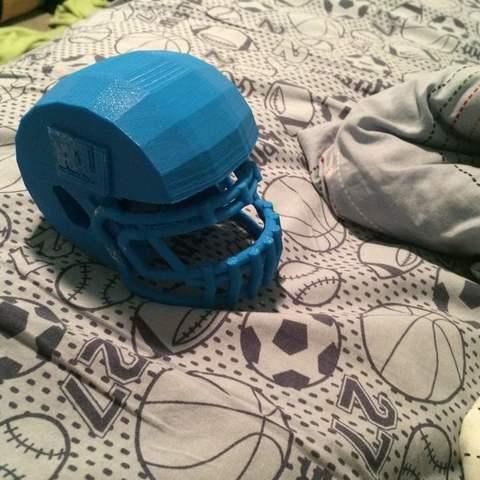 Download free 3D printer model Football Helmet, Azgardinho