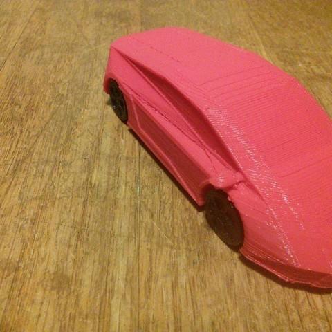 Download free 3D printing designs Sports car, Azgardinho
