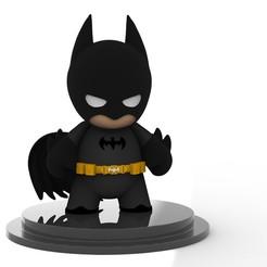 Descargar modelo 3D gratis Batman chibi, arthurjdb