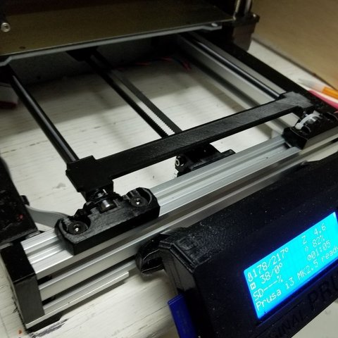 Download free 3D printer designs Prusa Y rail alignment tool, jimjax