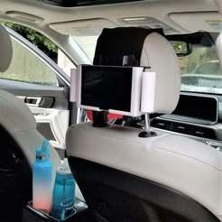 Download free 3MF file Nintendo holder for car travel • 3D printable design, jimjax