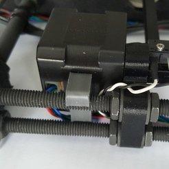 Descargar diseños 3D gratis Soporte del motor del eje Y Prusa i3 MK2, jimjax