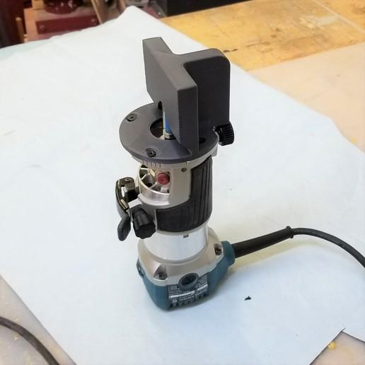 20191012_192058.jpg Download free STL file Makita banding trim attachment • 3D printing design, jimjax