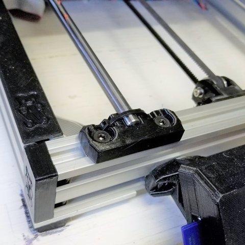 Télécharger fichier impression 3D gratuit Prusa Casquette de rail pour ourson, jimjax