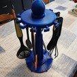 Download 3D printer templates Carousel of kitchen utensils tupperware, davlebon