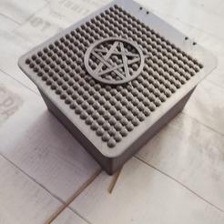 5.jpg Télécharger fichier STL boite pentagram • Modèle imprimable en 3D, davlebon