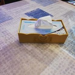 Plan imprimante 3D boite à mouchoir, davidoceane