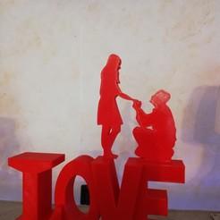 3D print files love, davlebon