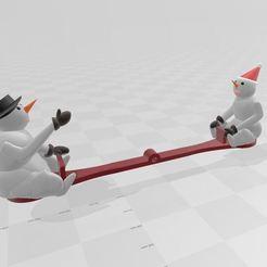 Capture.JPG Descargar archivo STL muñeco de nieve • Objeto para impresora 3D, davlebon