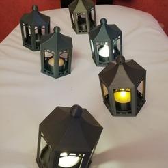 4.jpg Download STL file LED lantern • 3D printer model, davlebon
