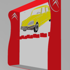 Télécharger fichier 3D support mural pour clés , davlebon
