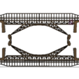 3D print model bridge, davidoceane