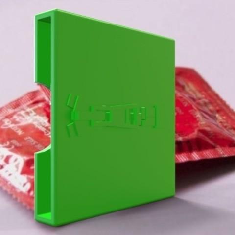 Download free 3D printer model Condom case, fer4lvarez