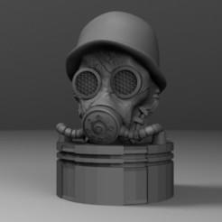 mascara.jpg Download STL file antique gas mask • 3D printer design, fer4lvarez