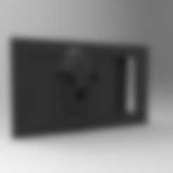 Download 3D print files belt buckle with skull, fer4lvarez
